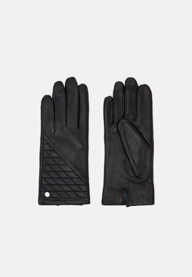 LEEDS - Fingervantar - black