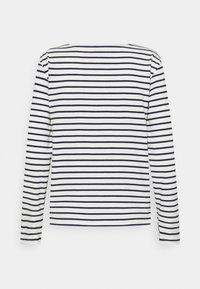 Petit Bateau - MARINIERE - Camiseta de manga larga - marshmallow/smoking - 1