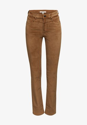 FASHION  - Trousers - camel