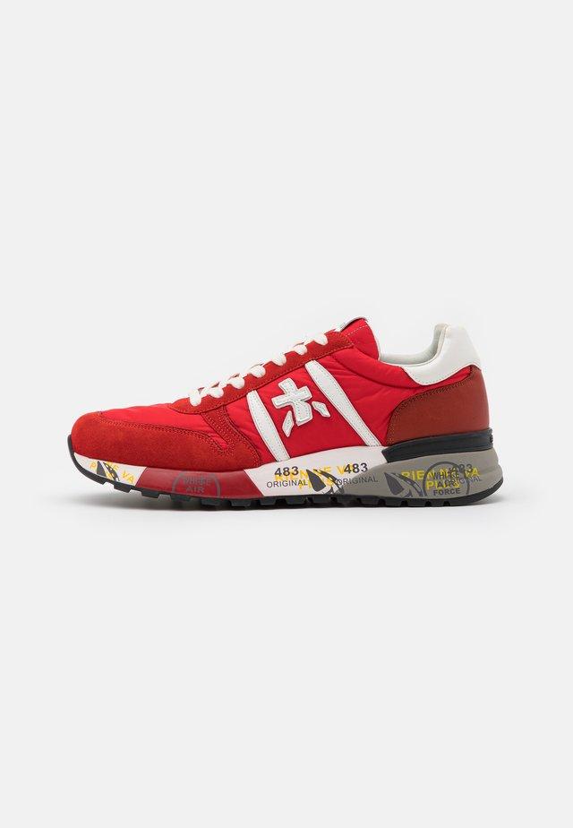 LANDER - Sneaker low - red
