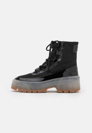 STIVALE DONNA WOMAN`S BOOT - Platform ankle boots - black