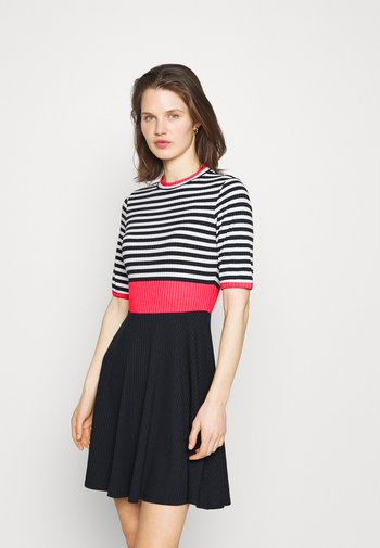 STRIPE DRESS - Jumper dress - blue