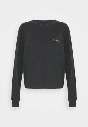 ARTWORK TEE LONG SLEEVE - Langarmshirt - faded black