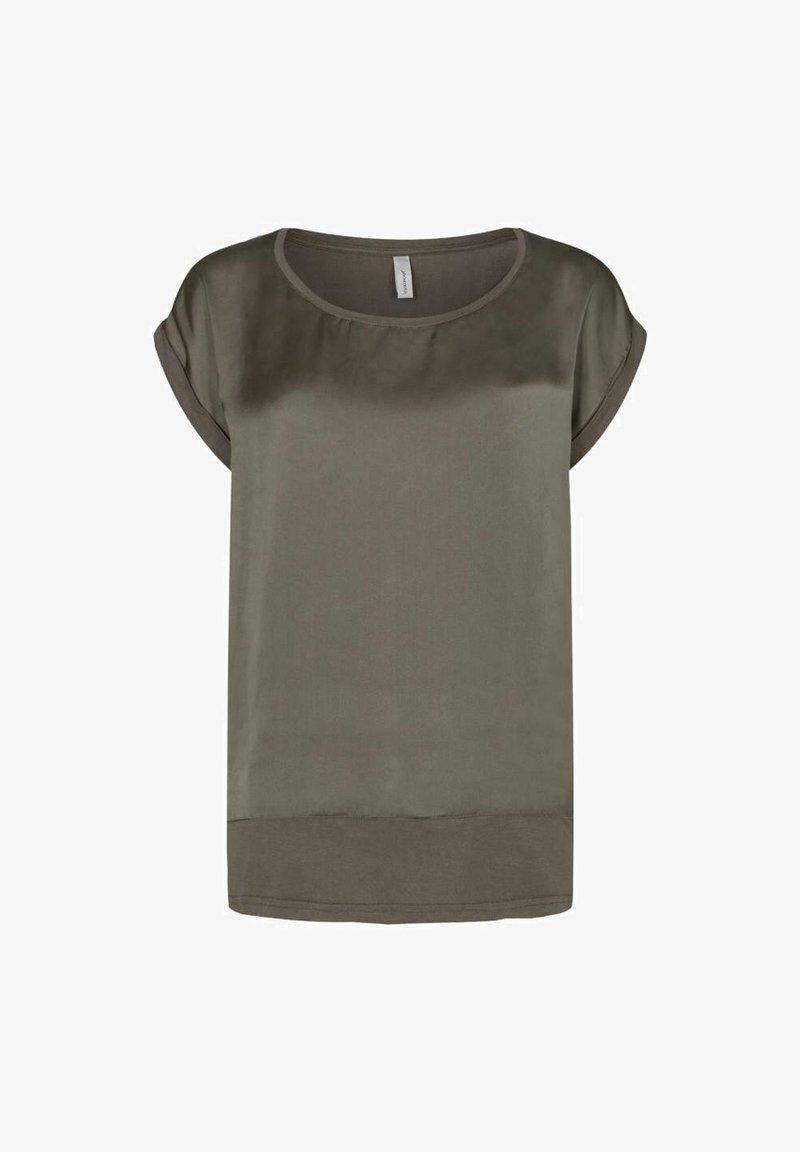 Soyaconcept - Print T-shirt - dark army