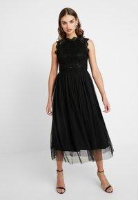 ONLY - ONLDEP DRESS - Sukienka koktajlowa - black - 0