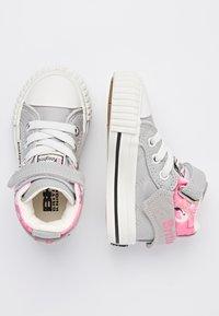 British Knights - ROCO - Baby shoes - lt grey/flamingo - 1