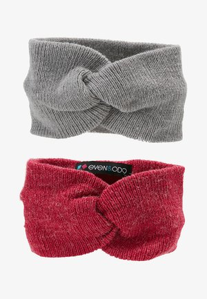 2 PACK - Ear warmers - pink/grey