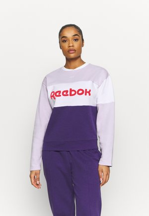 LINEAR LOGO CREW SET - Trainingspak - dark orchid