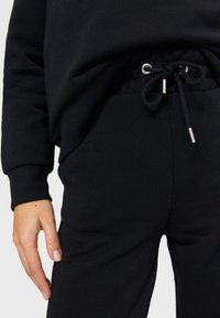 Stradivarius - SET - Tracksuit - black - 4