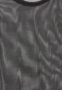 Missguided Tall - Top sdlouhým rukávem - black - 2
