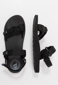 Jack Wolfskin - OUTFRESH - Walking sandals - black/light grey - 1