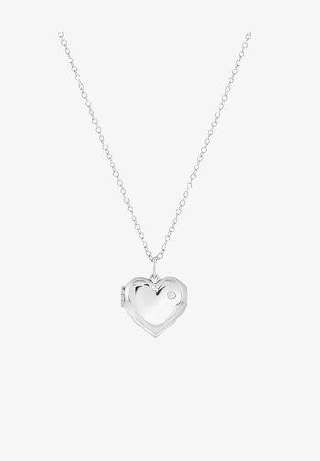 MEDAILLON HART  - Necklace - silver-coloured