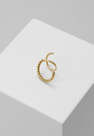 SOFIA TWIRL EARRING - Earrings - gold hp