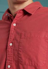 Superdry - LINE DRIED OXFORD - Shirt - preppy red - 1