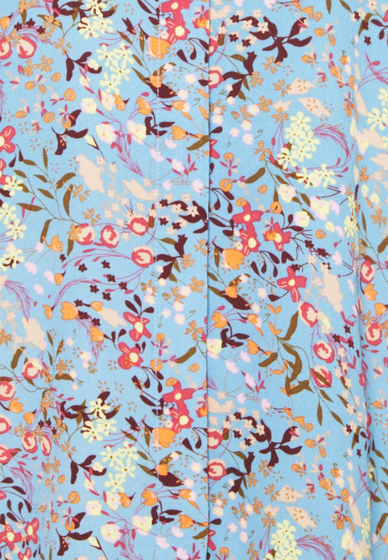 YAS Tall - YASSANTOS SHIRT TALL - Button-down blouse - dusk blue/santos print