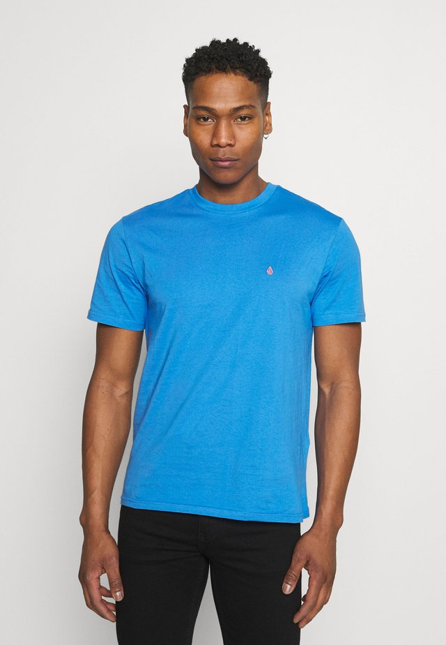 STONE BLANKS  - T-shirts - ballpoint blue