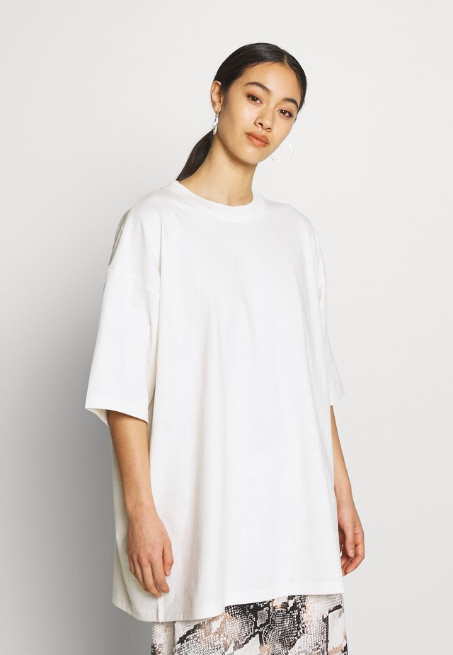 BLISS  - T-shirt z nadrukiem - white