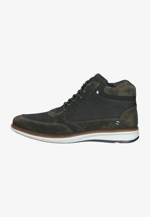 Sneakers hoog - asphalt/schwarz