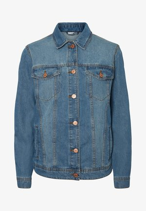 Jeansjakke - medium blue denim