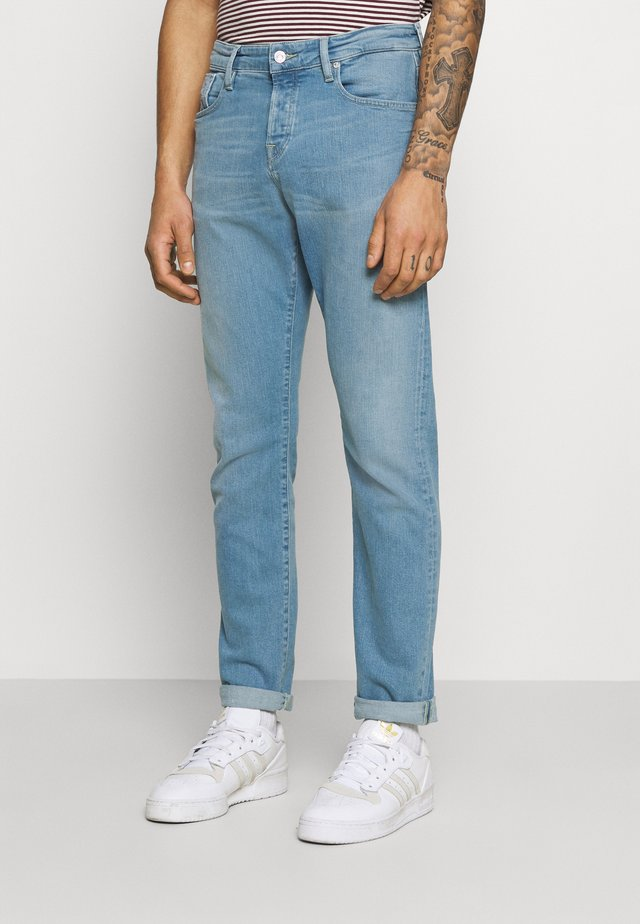 Jeans a sigaretta - blauw trace