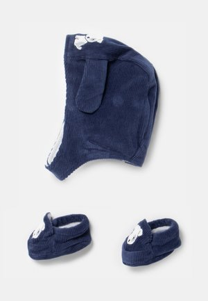 SET UNISEX - Čepice - estate blue