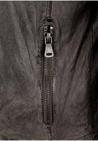 Capitano - Leather jacket - grey - 5