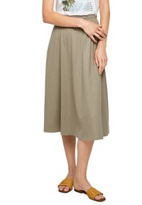s.Oliver - A-line skirt - summer khaki - 4