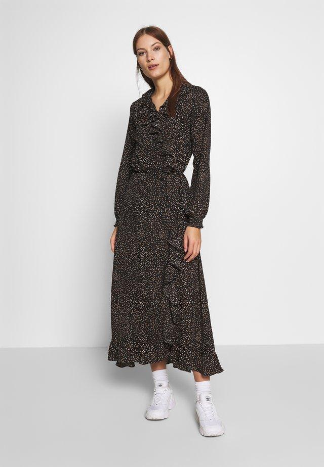 IMOGENE MWRAP DRESS - Robe d'été - black