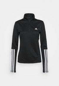 adidas Performance - Funkční triko - black/white - 0