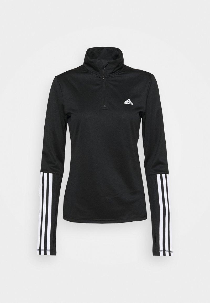 adidas Performance - Funkční triko - black/white