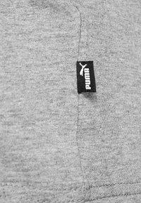 Puma - LOGO TEE - T-shirt imprimé - medium gray heather - 5