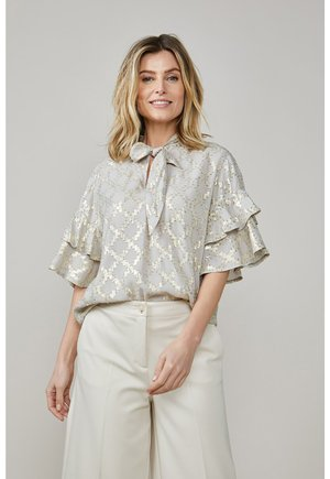Blouse - soft taupe