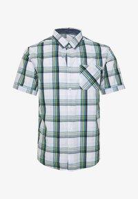 RAY COLOURFUL CHECK PACKAGE - Koszula - white base/blue