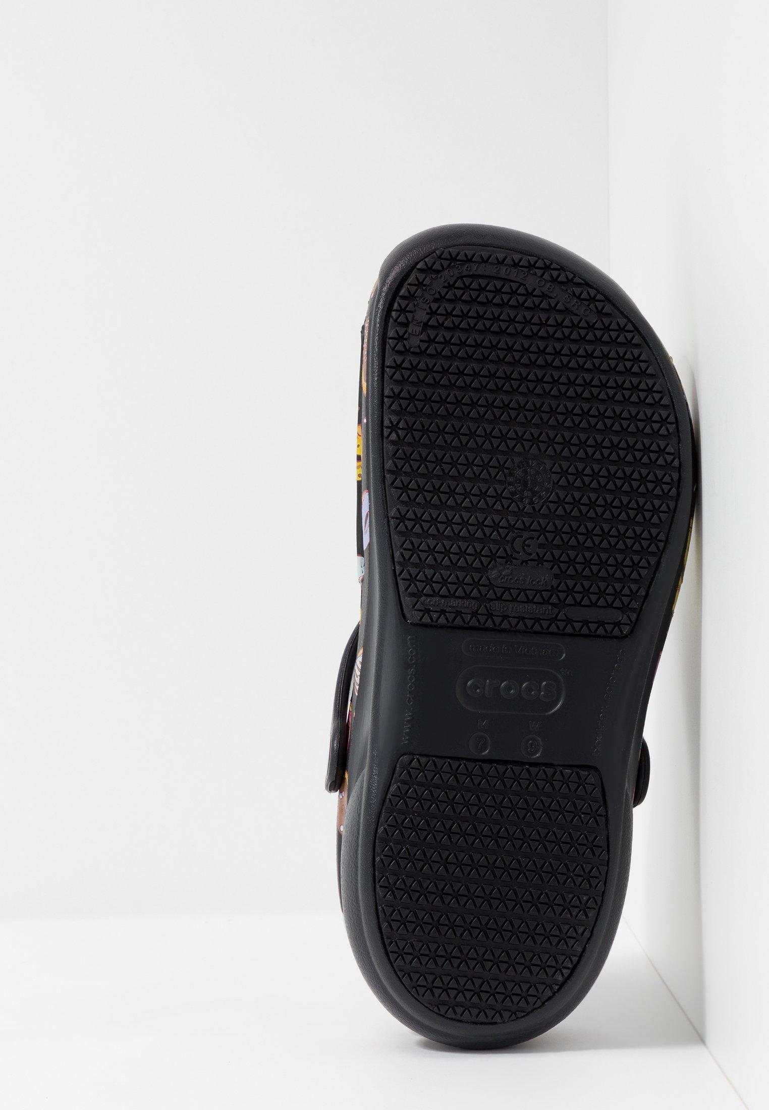 Crocs BISTRO GRAPHIC - Tresko - black/multicolors