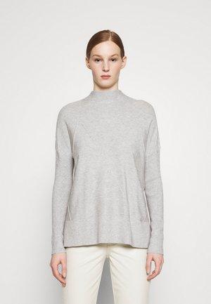 Strikkegenser - grey marl