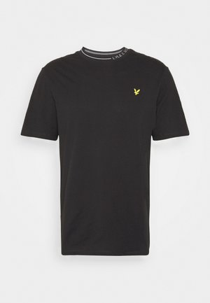 BRANDED RINGER - T-shirt - bas - jet black