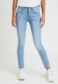 G-Star - LYNN MID SKINNY - Jeans Skinny Fit - neutro stretch denim - 0