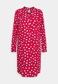 Emily van den Bergh - Abito a camicia - red/white - 0