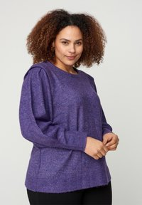 Zizzi - Jumper - purple - 0