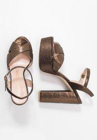 Stuart Weitzman - SOLIESSE - High heeled sandals - bronze - 3