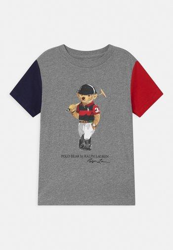 Print T-shirt - andover heather/multi