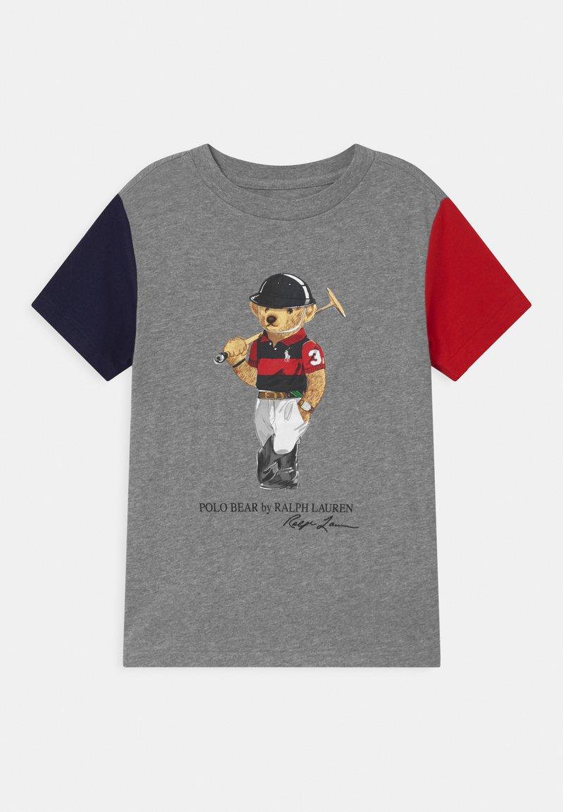 Polo Ralph Lauren - Print T-shirt - andover heather/multi