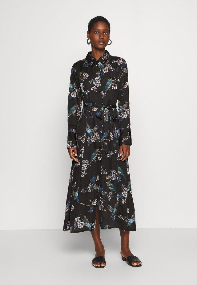 MARGOT DRESS - Vestido camisero - dark green