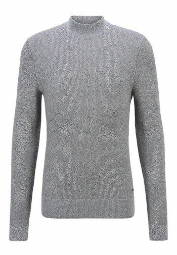 KOUSENO - Stickad tröja - dark grey