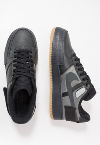 Nike Sportswear - AF1-TYPE  - Trainers - black/anthracite/light brown - 1