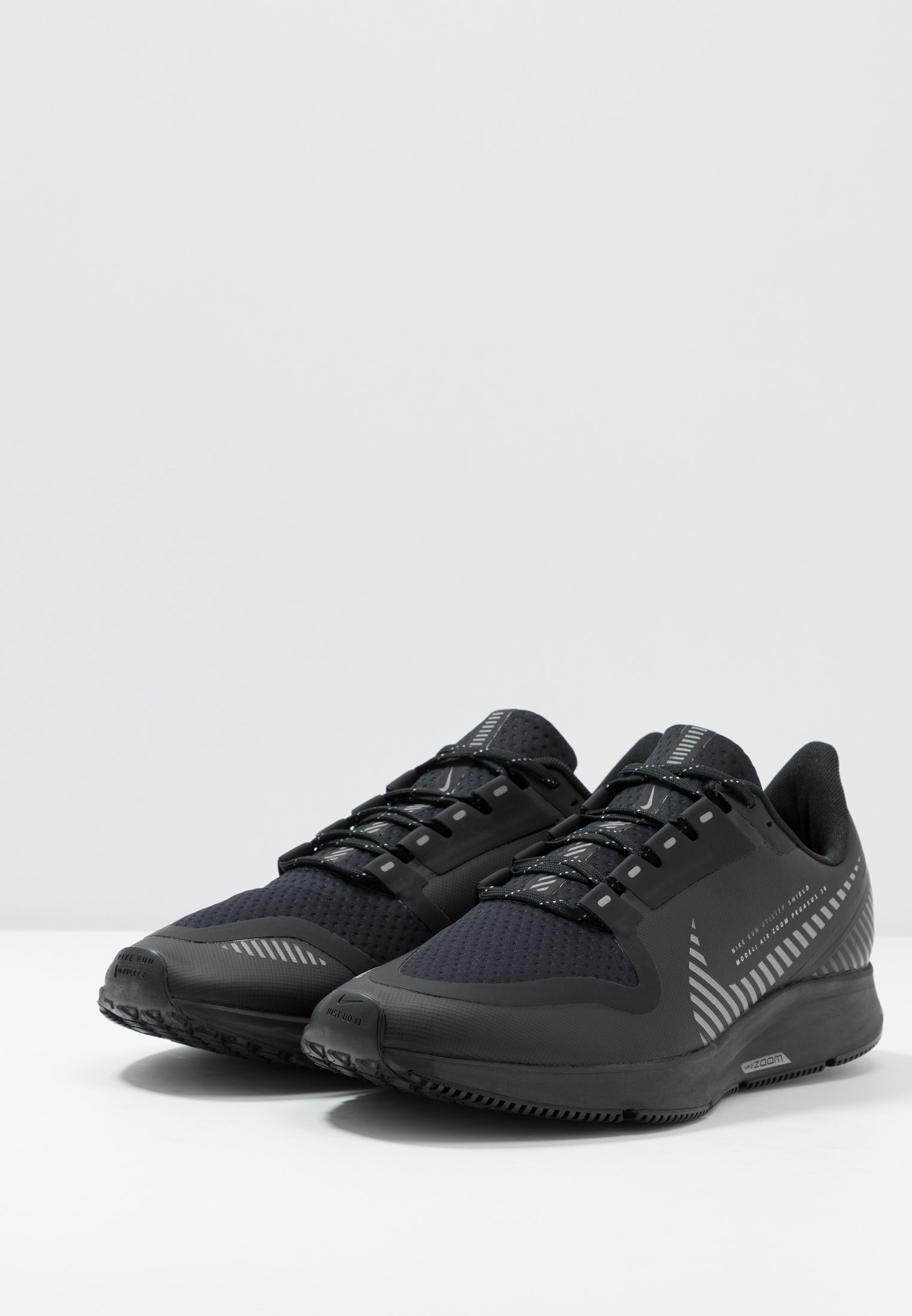 Nike Performance Air Zoom Pegasus 36 Shield - Neutrale Løbesko Black/metallic Silver