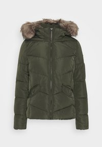 ONLROONA QUILTED JACKET - Winter jacket - rosin