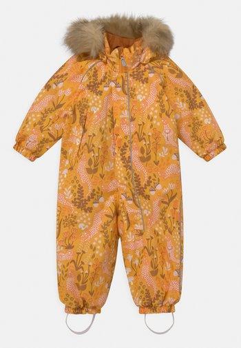 WINTER LAPPI UNISEX - Snowsuit - orange yellow