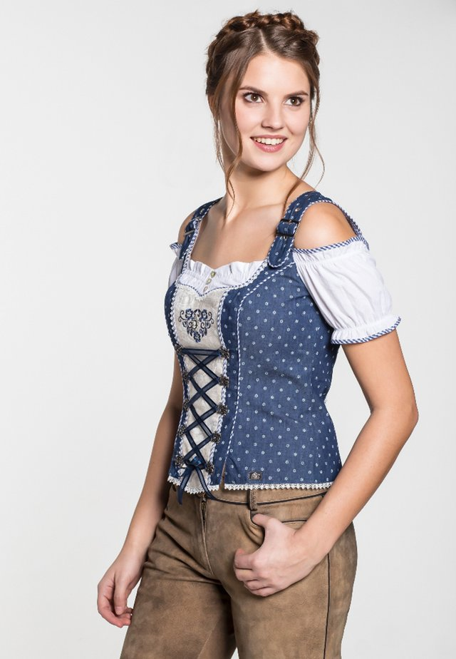 FRANKFURT - Blouse - blue/white