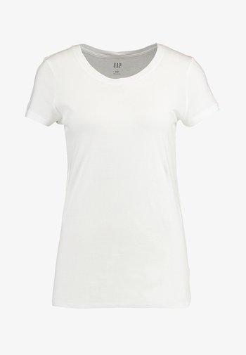 CREW - T-shirt basic - white